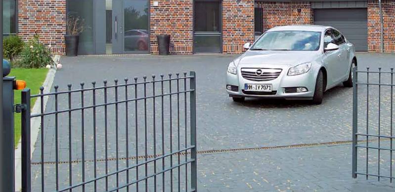 Автоматические ворота Hormann для дачи